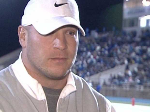 Brian Urlacher grew up in Lovington, N.M. before becoming one of the most beloved players in UNM football history.