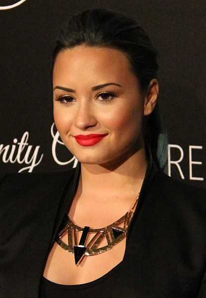 Singer Demi Lovato was born in Albuquerque, N.M.