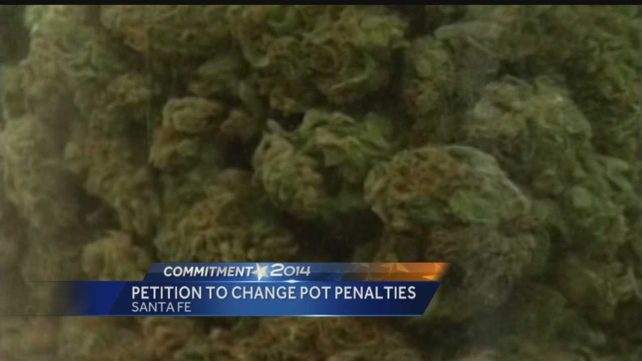 New Mexico voters might get a chance to decide what the penalty should be for residents caught with marijuana.
