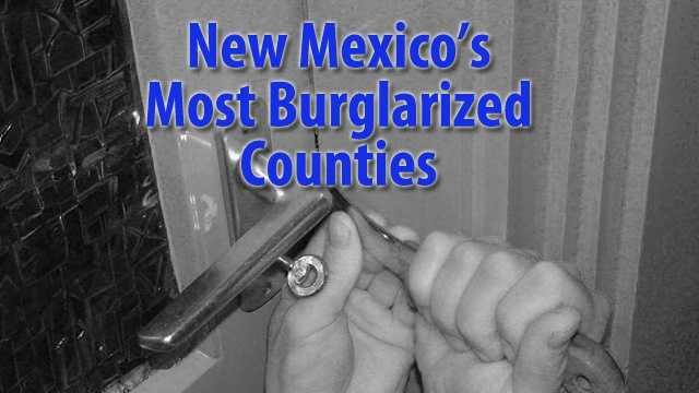 See which counties have the most burglaries per thousand residents according to data from the FBI collected bySafewise.com