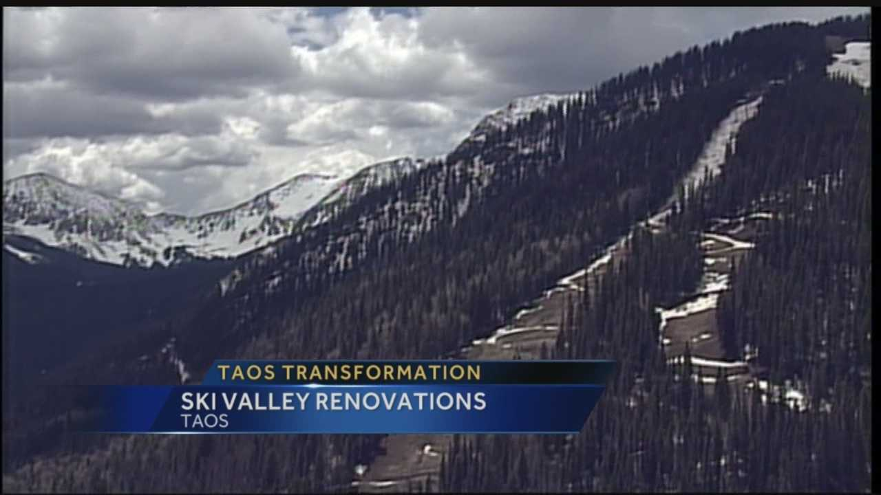 With a new lift being built, Taos Ski Valley is preparing to become a mountain biking destination during months with no snow.