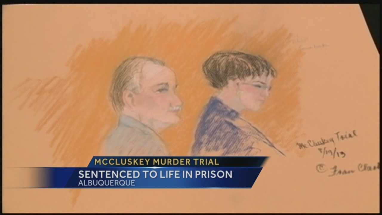 McCluskey sentenced to life in prison