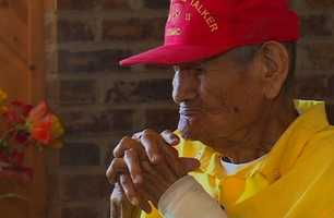 """Being a Code Talker is something that's very special to my tribe, and I think this is one of the best things that ever happened to my tribe to use our own language against the Japanese,"" Chester Nez said."