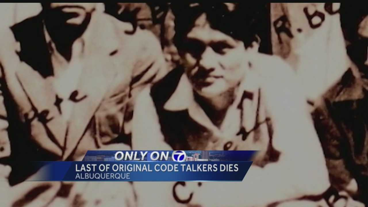 Chester Nez, the last original Navajo Code Talker, passed away Wednesday morning, family members told Action 7 News.