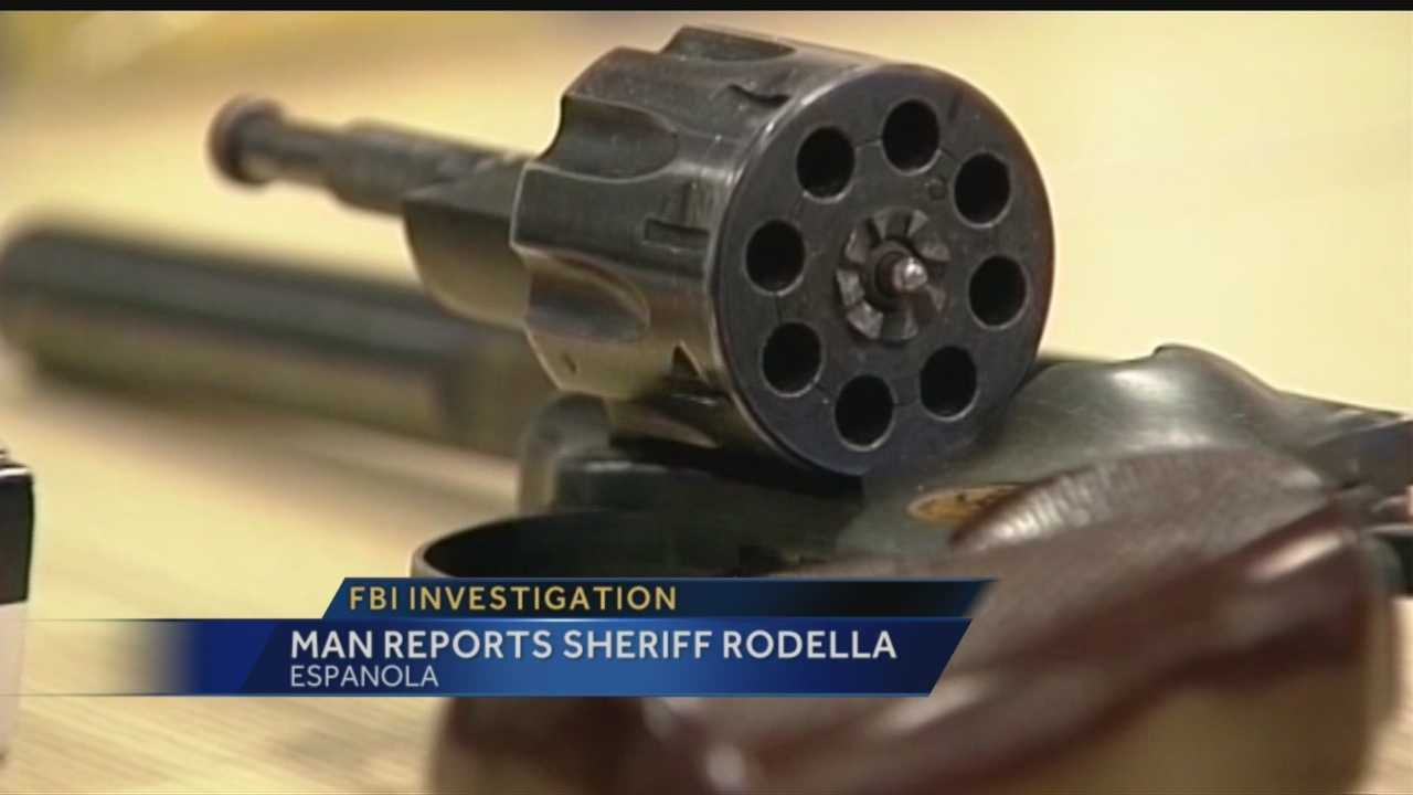 It's been a rough week for Rio Arriba County Sheriff Tom Rodella.
