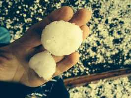 A huge 'thank you' to everyone that uploaded photos to Twitter, Facebook or uLocal on Friday and Saturday. [PECOS | HAIL]