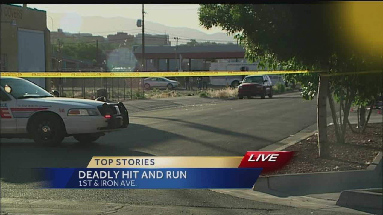 Police say someone is dead after an early morning hit and run in downtown Albuquerque.