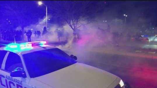 March 30, A week after the first Boyd-inspired protest, hundreds marched against APD in a chaos-filled afternoon and evening. Tear gas was used against the crowds.