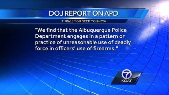 April 10, DOJ releases APD investigation results, cites pattern of unreasonable use of deadly force