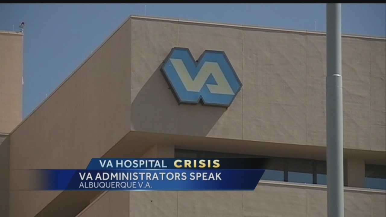 For the first time, administrators from the Albuquerque Veterans Affairs Hospital are talking openly about problems that were uncovered by an audit.
