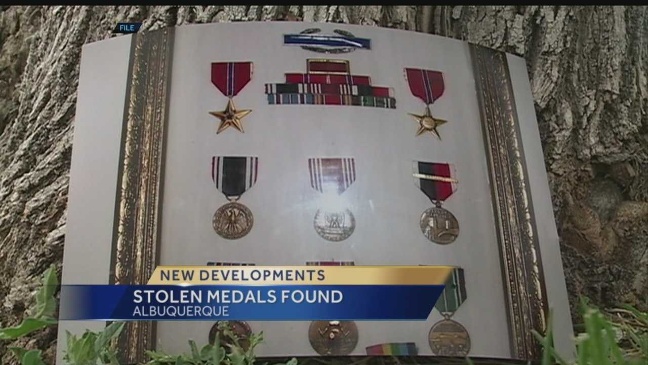 Luck and hard work helped reunite a local veteran with his stolen war medals.