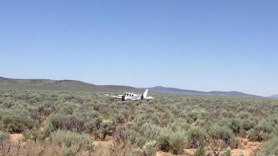 Taos plane