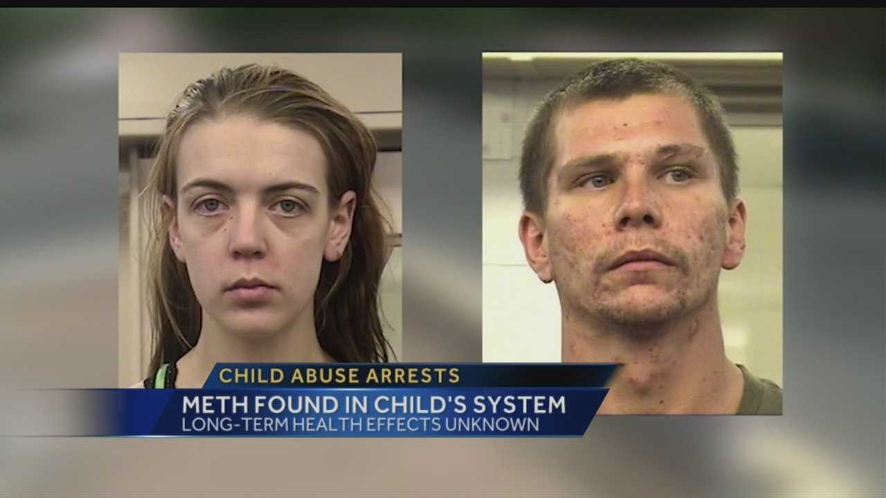 Two Albuquerque parents are facing child abuse charges and their children are still in state custody, after their toddler possibly ingested meth.