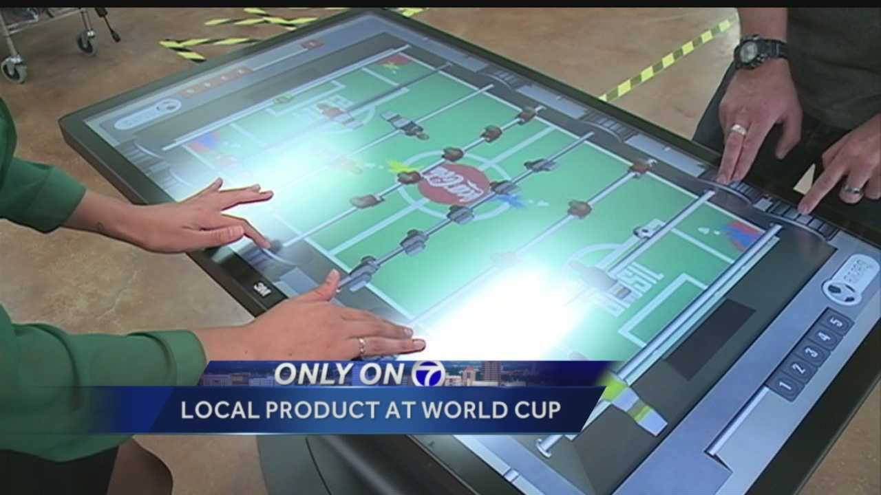NM-made product sits in World Cup VIP booth