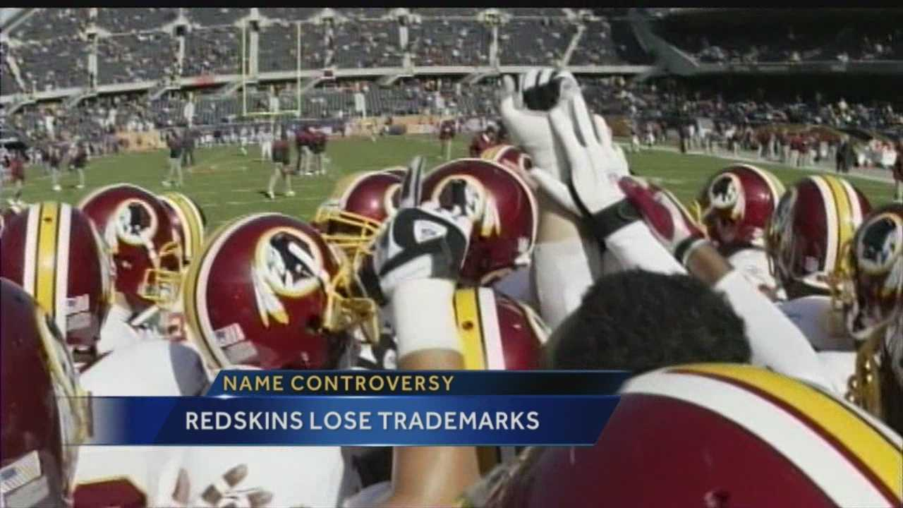 Name controversy: Redskins lose trademarks