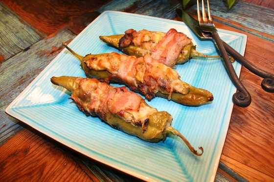 Bacon and Squash Stuffed Green ChileCLICK HERE to see the recipe
