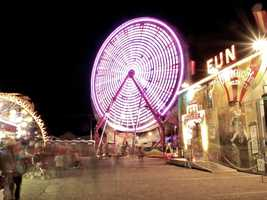 14. Take a shot at one of the midway games at The New Mexico State Fair