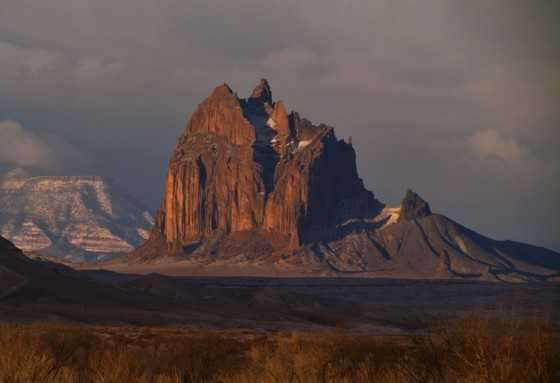 38.       Take a picture of Shiprock