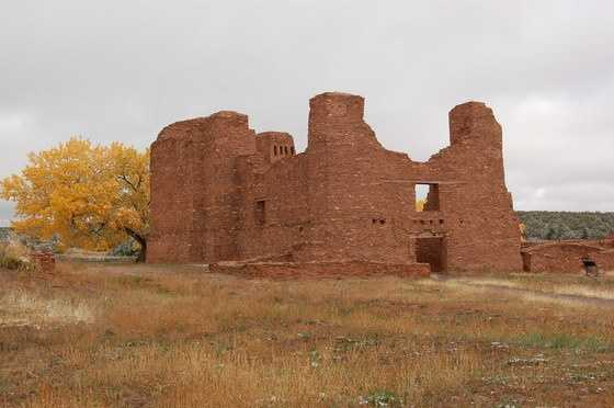 56.       Check out Salinas Pueblo Missions National Monument