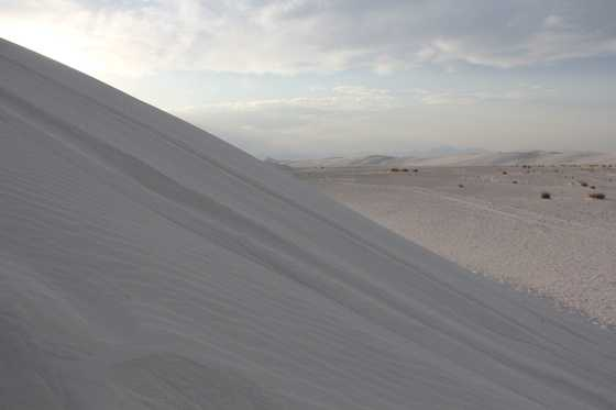 60.       Go to the White Sands National Monument