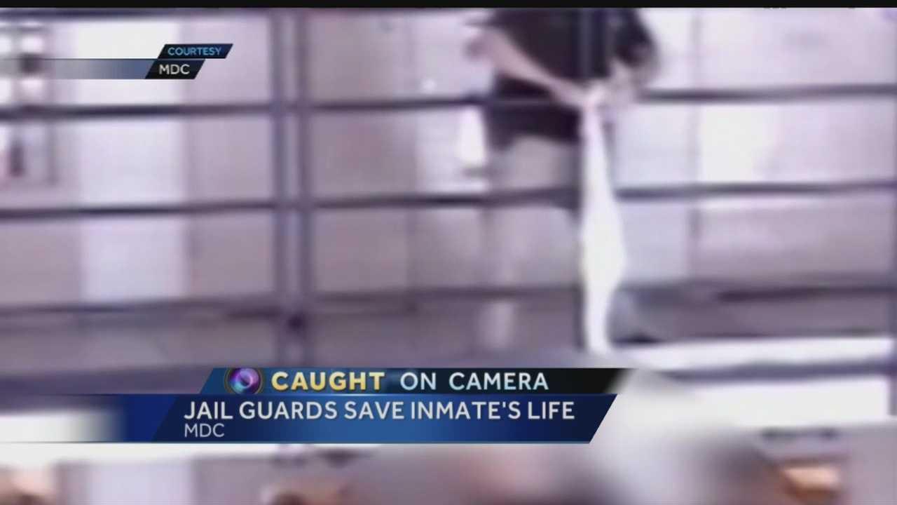 MDC guard saves inmate