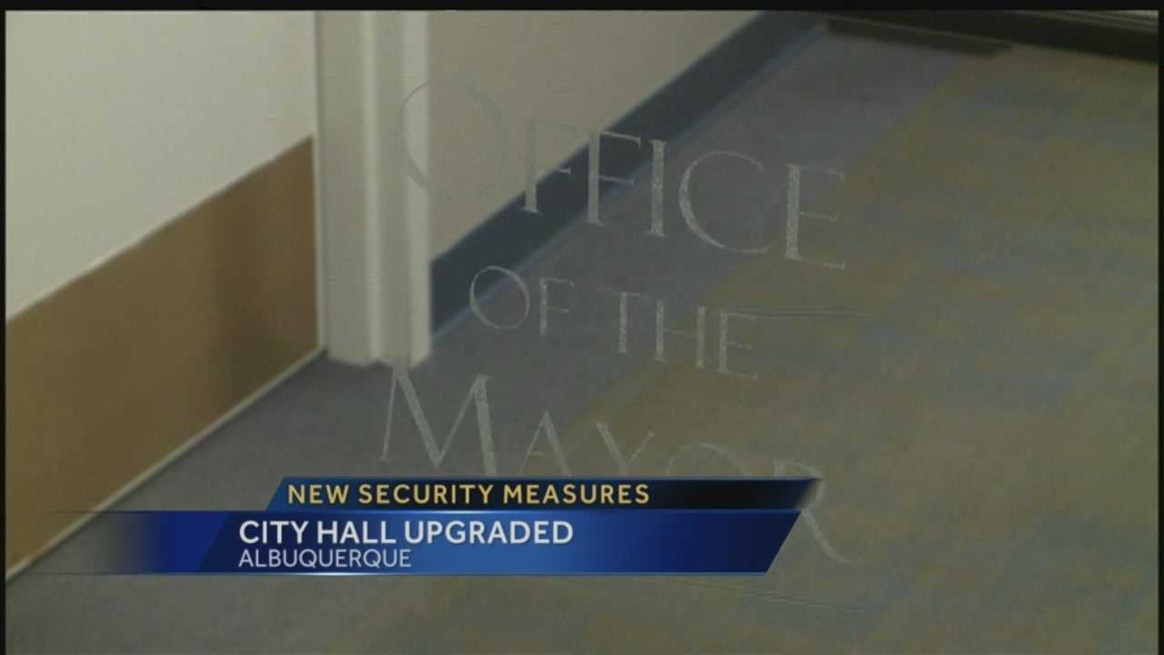 The city isn't only responding to anti-police brutality protests with undercover operations: new security doors are being installed in City Hall.