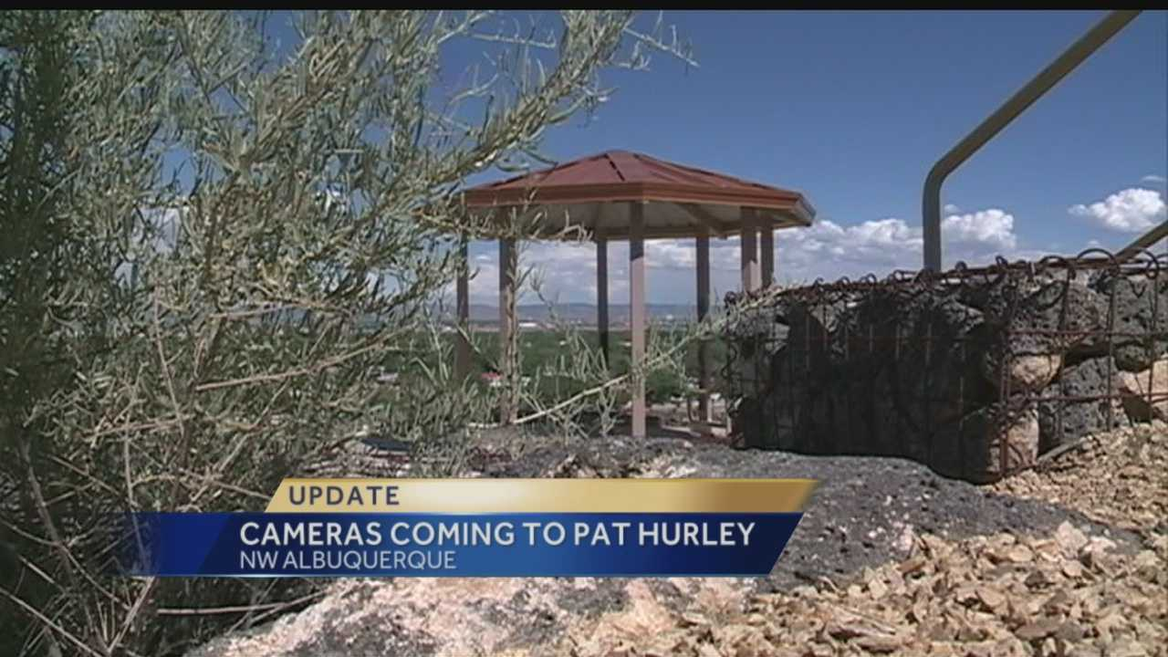 A Northwest Albuquerque park could soon be getting safer, the city pans to instal cameras.