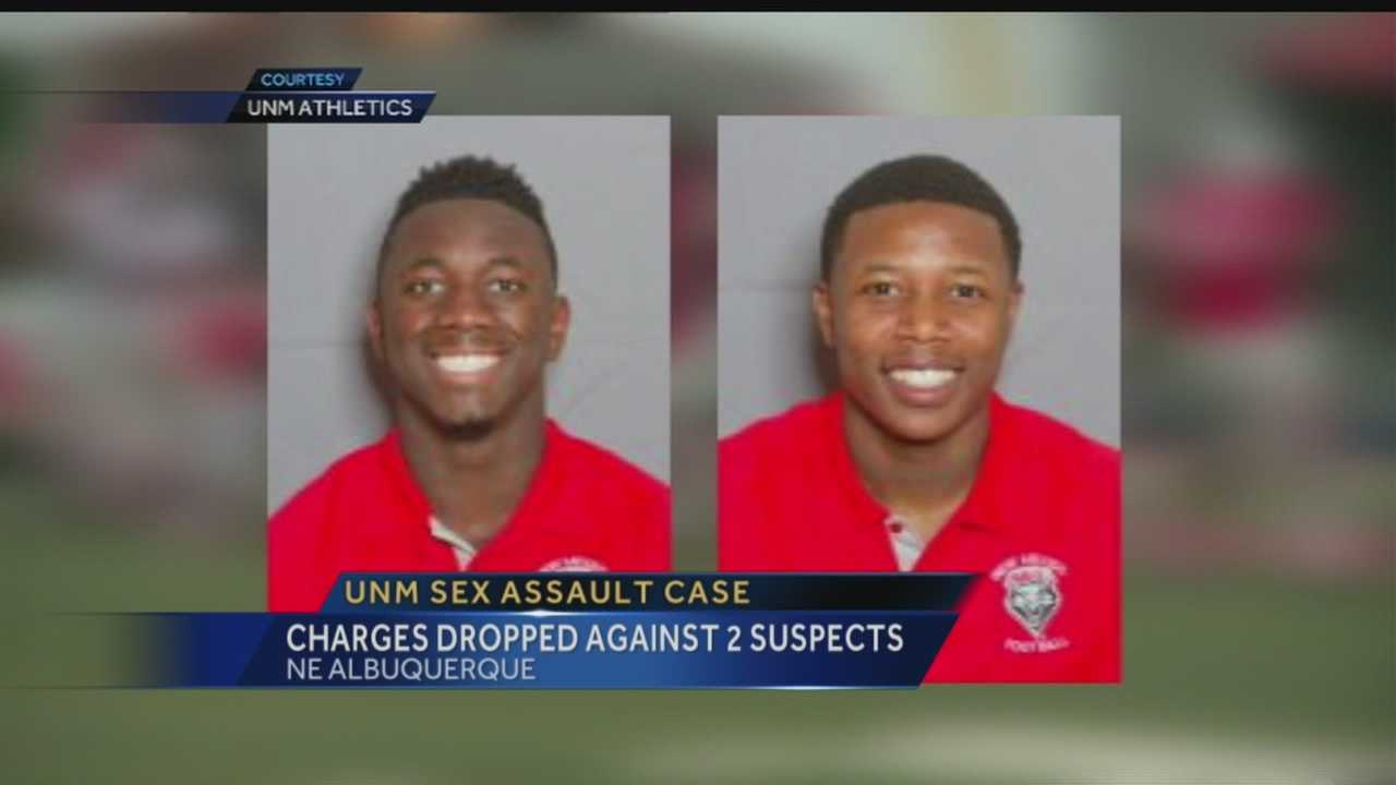 UNM sex assault case: Charges dropped against 2 suspects