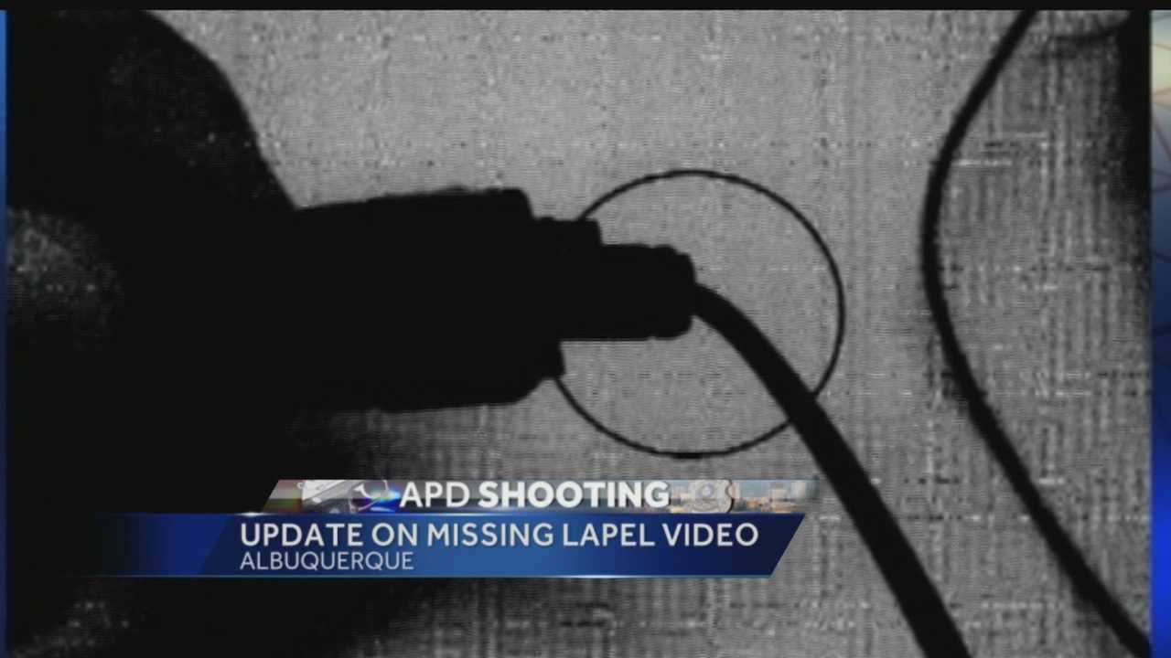 KOAT continues to ask questions about why lapel video from an Albuquerque police officer involved in a deadly shooting does not exist.