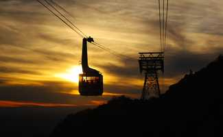 Sandia Peak Aerial Tramway ($40 gas category). Quick. Easy. Not as cheap, however. Adult tickets are $20.