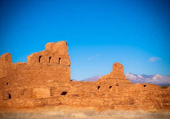 Salinas Pueblo Missions National Monument is about a 3-hour round-trip. Count of that $40 for gas.  It's free to go. Look out for the Abo Ruins.
