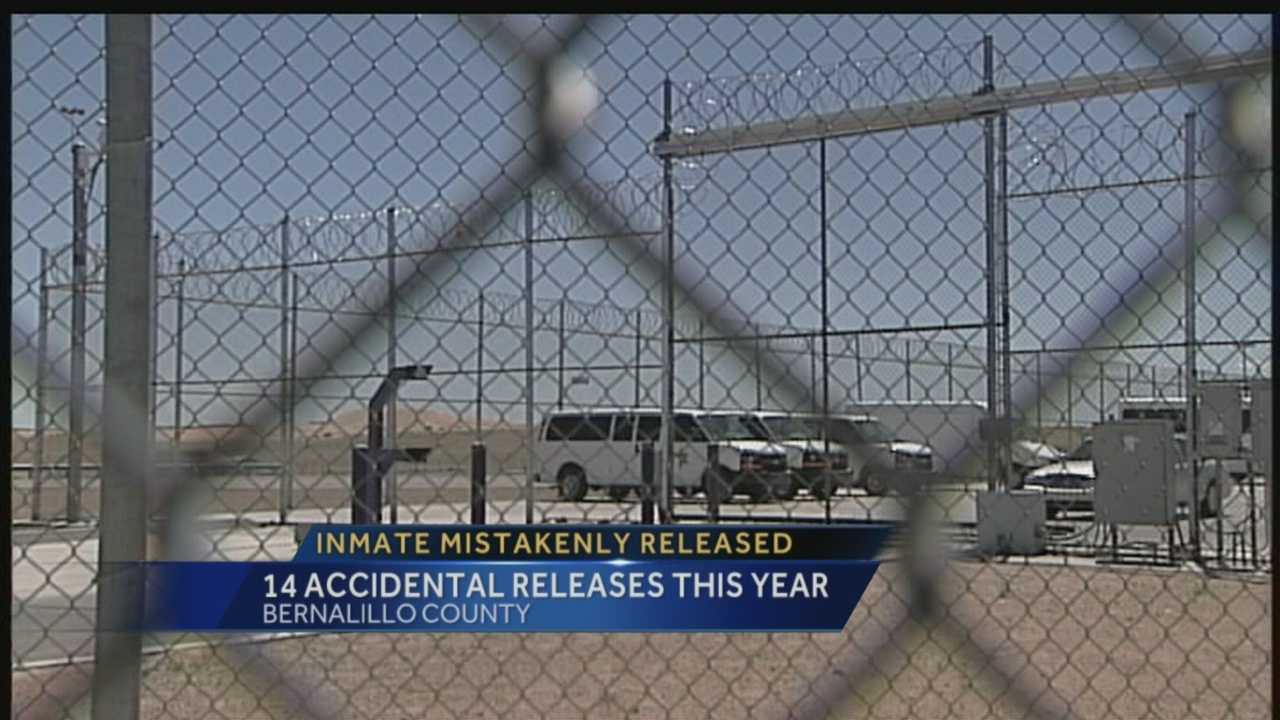 Right now an inmate is back behind bars after receiving a short taste of freedom.