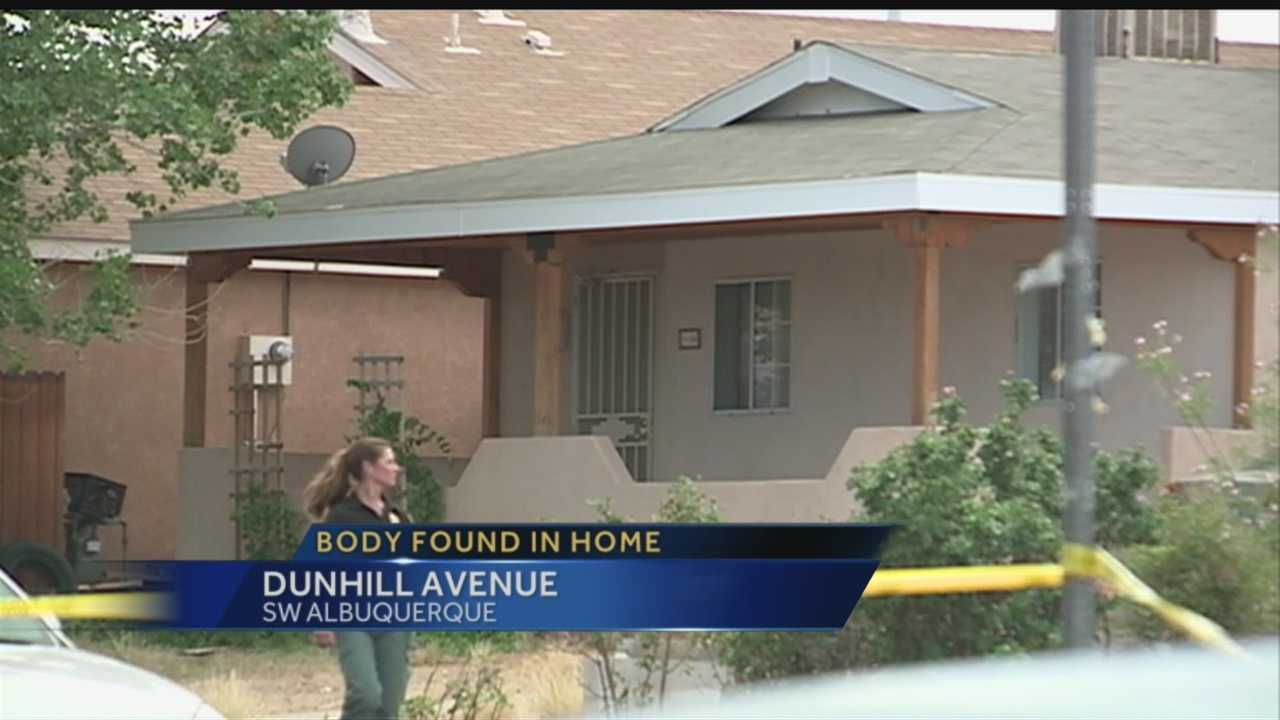 People living in one Albuquerque neighborhood have said they're living in fear after a body was found in a nearby home.