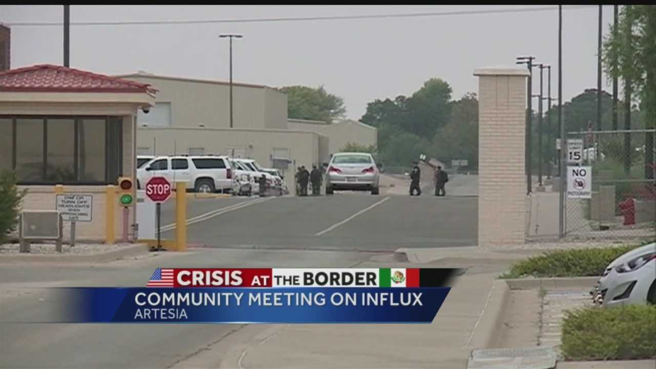Crisis at the border: Community meeting on influx