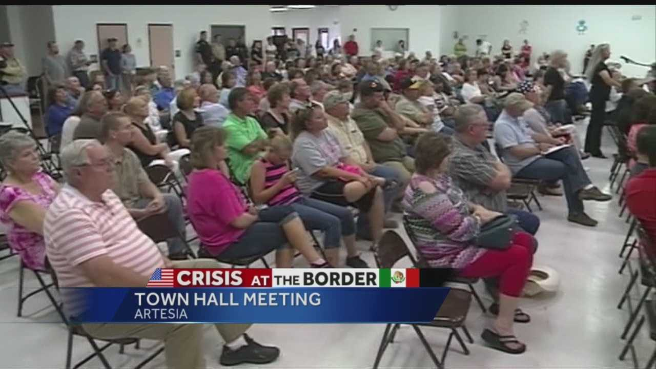 People have fought back since hundreds of undocumented immigrants were put in a federal facility in southern New Mexico.