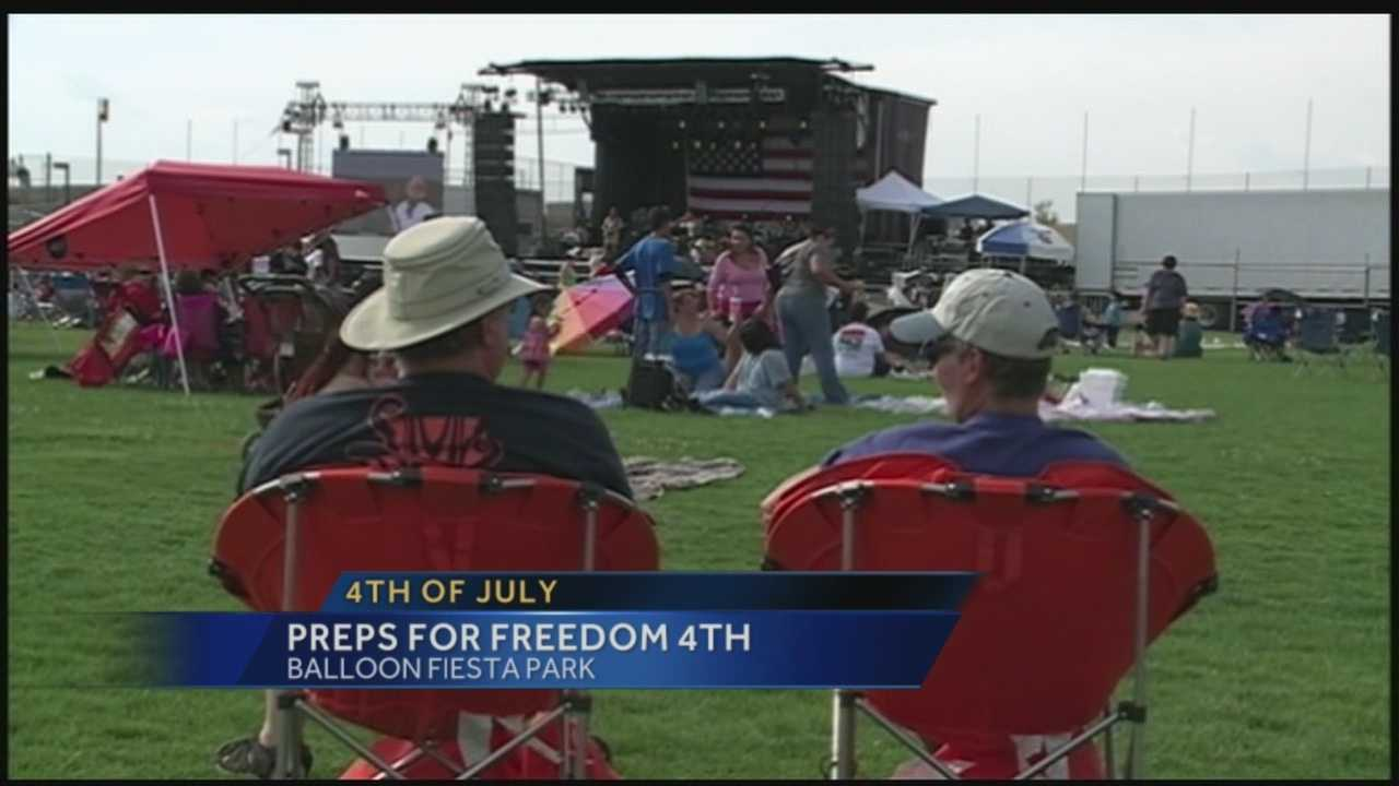 Preparations for Freedom 4th