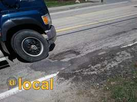 You get flat tires each year from potholes