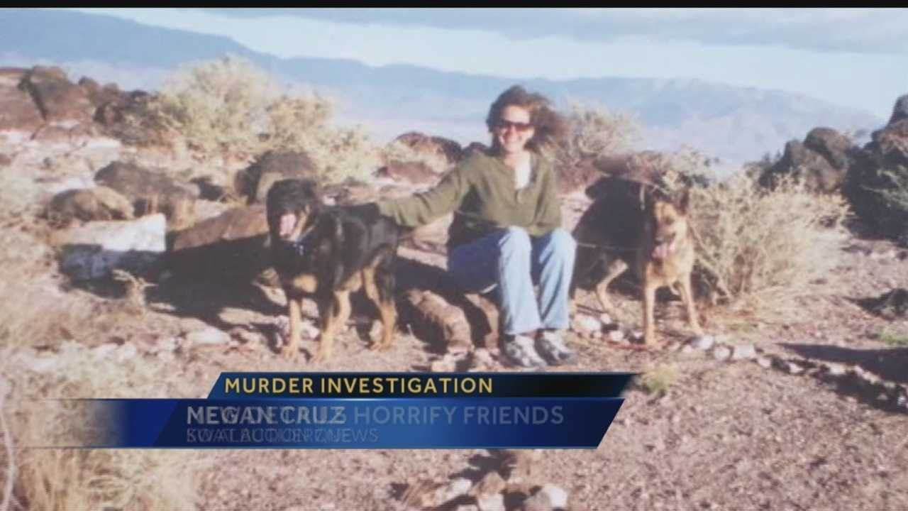 Tonight, dozens of people came together to mourn a woman found dead in her Southwest Albuquerque home. Megan Cruz spoke with those who knew her best about the disturbing new details