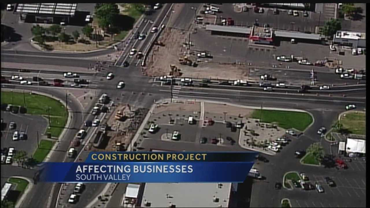 South Valley Construction Affecting Businesses