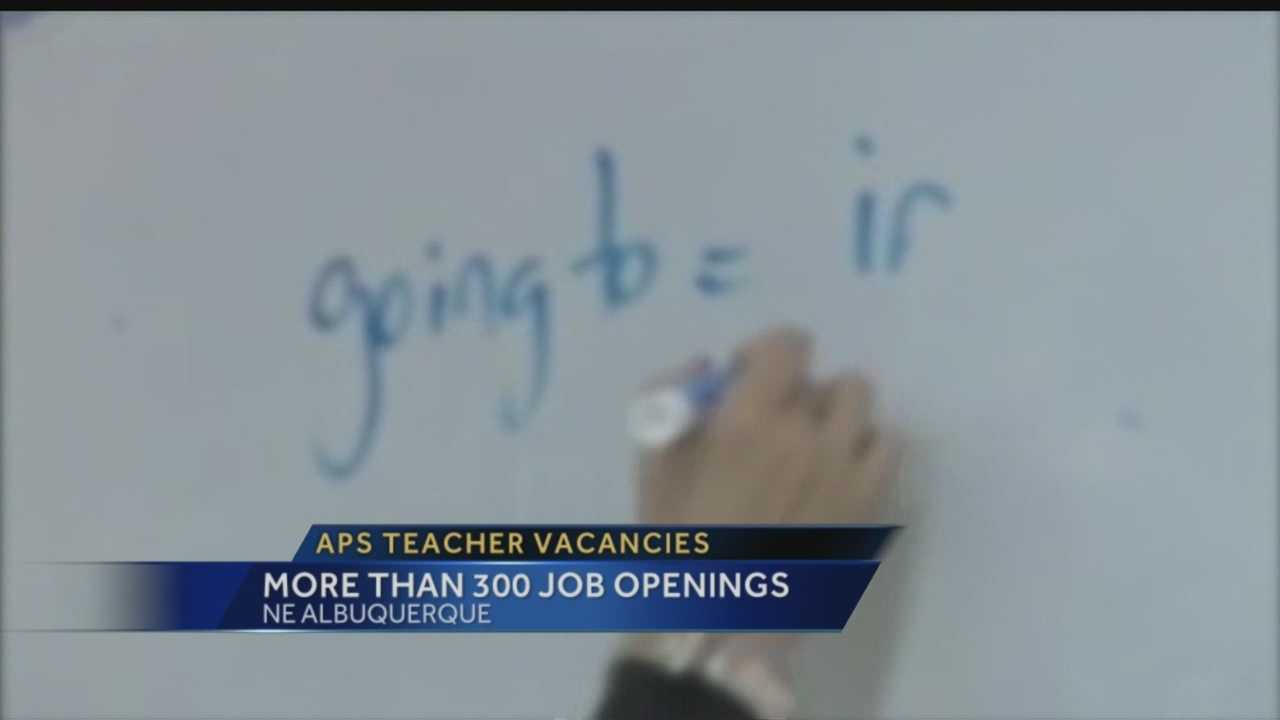 District has more than 300 job openings