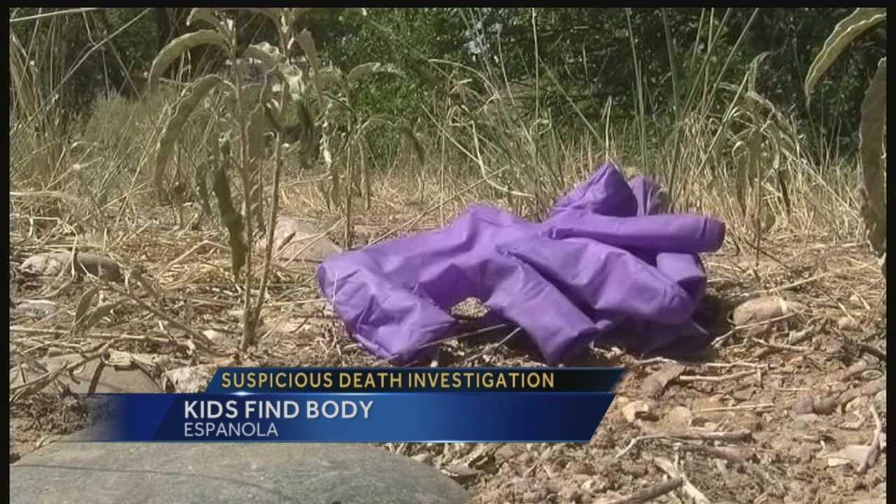 Suspicious death investigation: Kids find body