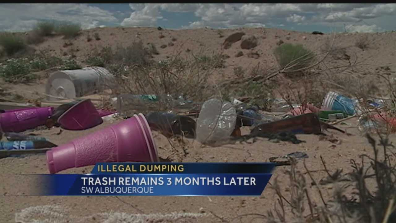Neighbors said they're still dealing with hazardous, illegal dumping in the South Valley, and the situation doesn't seem to be getting any better.
