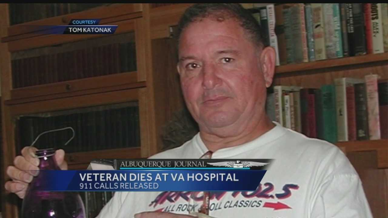 Our media partners at the Albuquerque Journal obtained the 911 calls from the day a 71-year-old veteran collapsed inside the cafeteria of the Veterans Affairs hospital and had to wait 15 minutes for an ambulance to take him to the facility's emergency room.