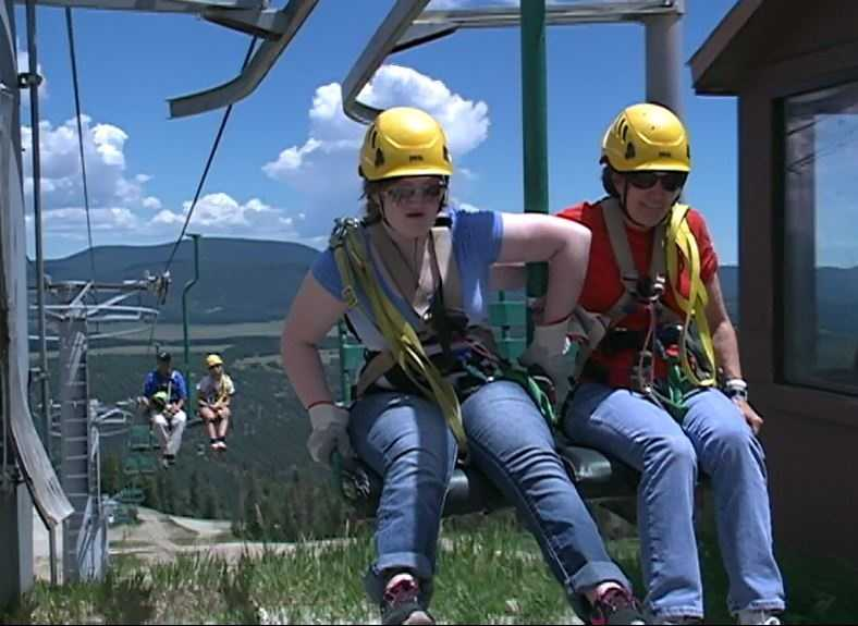 5. The zipline is only open between May 16 and October 12 this year