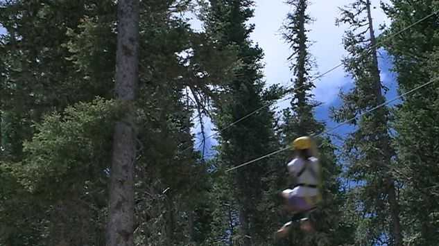 2. There are multiple ziplines on the adventure that range from 120 to 1,600 feet in length