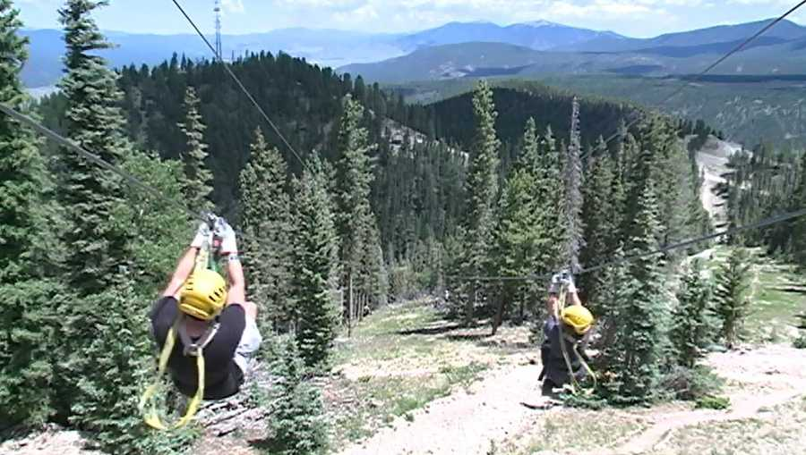 Do you feel like a sky-high New Mexico adventure that doesn't involve a hot-air balloon? Check out 7 things to know about Angel Fire's Zipline adventure tour
