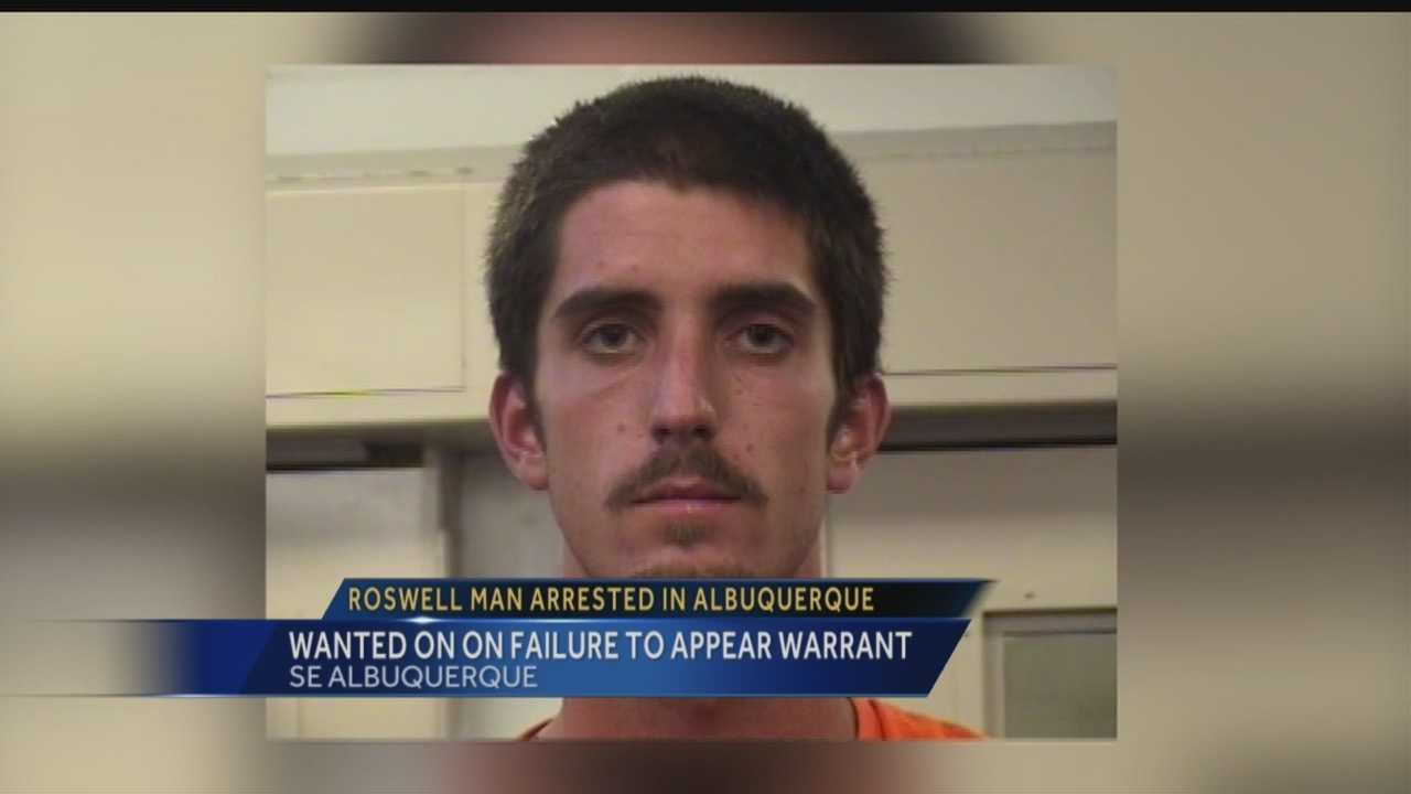 Roswell man arrested in Albuquerque