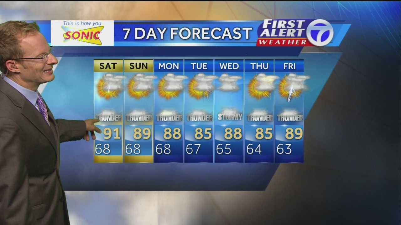 Temps may fall after NM's weekend rain