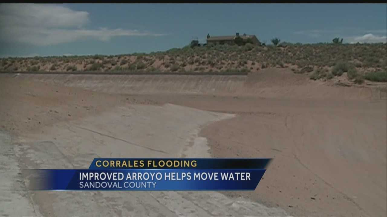 Some residents in Sandoval County can breathe a littler easier this monsoon season.