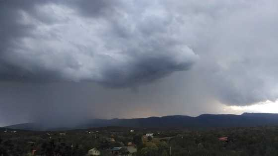 East Mountain thunderstorm from u local member Kim Wagner
